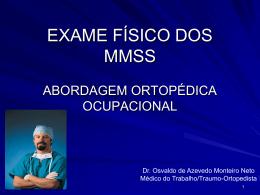 Palestra Dr. Osvaldo - Introdução