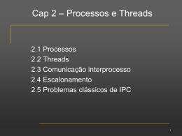 Processos e Threads - Divisão de Ciência da Computação