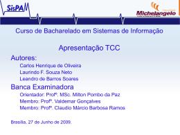 ApresentaçãoTCC