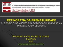Retinopatia da prematuridade (Curso de
