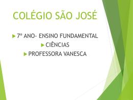 Aves e Mamíferos - Colégio São José