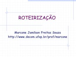 Roteirizacao - DECOM-UFOP