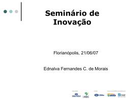 Seminário de Inovação - Movimento Brasil Competitivo