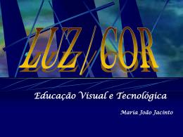LUZ/ COR - Ensinar EVT