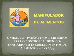 cvs 6/99 manipulador de alimentos
