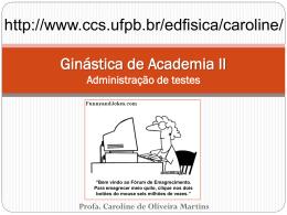 adm_testes - Caroline de Oliveira Martins