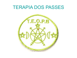 terapia dos passes