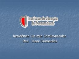 Síndrome do Baixo Débito Cardíaaco no PO de Cirurgia