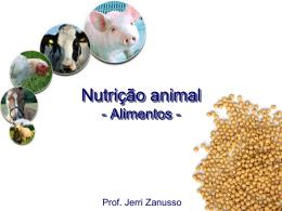 Nutrição animal Introdução, conceitos gerais