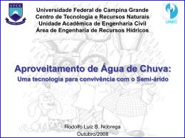 AguaDeChuva - Área de Engenharia de Recursos Hídricos