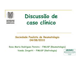 discussão Dra Rosa M R Pereira & Vanda Jorgetti