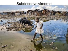 Subdesenvolvimento 1 fase a