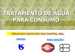 Tratamento de água - Fernando Santiago dos Santos