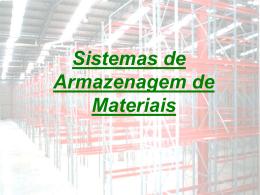 Sistemas de Armazenagem - MGerhardt Consultorias