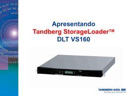 Tandberg StorageLoader DLT VS160