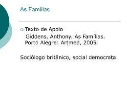 Família Brasileira em Dados