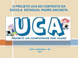 Escola UCA - NTE Nova Andradina - home