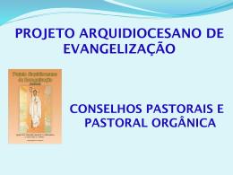 Conselhos pastorais e Pastoral Orgânica