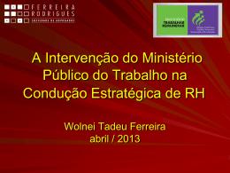 Ação Civil Pública - ABRH-BA