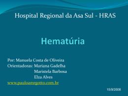 Hematúria - Paulo Roberto Margotto