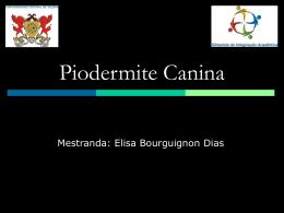 Piodermite Canina - GEAC-UFV