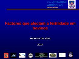 Fatores que afetam a fertilidade em bovinos leiteiros