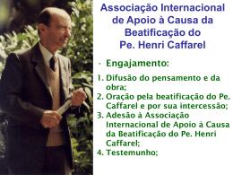 Associação Internacional de Apoio à Causa da Beatificação