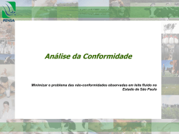 Analise de conformidade