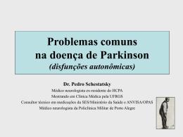 Problemas comuns na doença de Parkinson