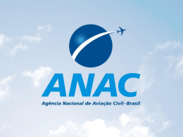 Apresentação ANAC