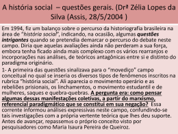Apresentação-A história social em debate.