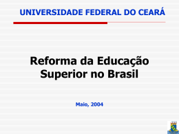 Reforma da Educação Superior no Brasil
