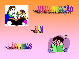 PENSE Por que Memorizar?