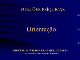 Processo de Orientação - Wilson Kraemer de Paula