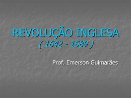 REVOLUÇÃO INGLESA