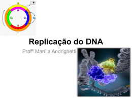 Replicação do DNA - Docente