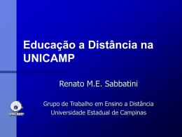 Educação a Distância na UNICAMP
