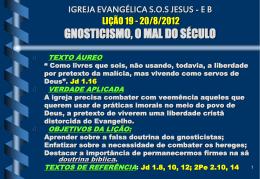 igreja evangélica sos jesus
