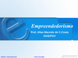 Empreendedorismo - ppt