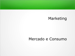 marketing e mercados - Docente