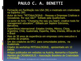 PAULO C. A. BENETTI