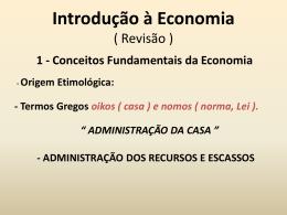 introdução à econômia