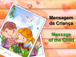 Mensagem da Criança