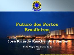 Localização dos Principais Portos Brasileiros