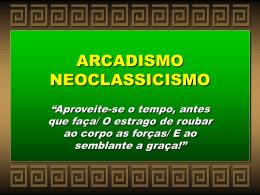Arcadismo PowerPoint