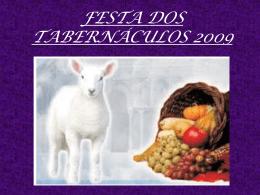 Festa dos tabernaculos 2009