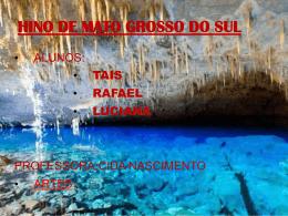 HINO DE MATO GROSSO DO SUL
