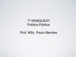 Política e governo