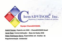 ChemADVISOR Português