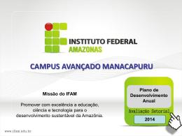 AVALIAÇAO CAM-2014 - Sistema de Gestão de Demandas